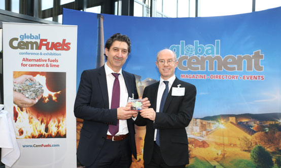 Winner of the prize for best presentation at Global CemFuels 2018 was Luigi Di Matteo of Di Matteo Group